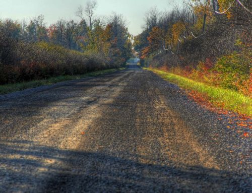 Paved and unpaved roads in Niagara